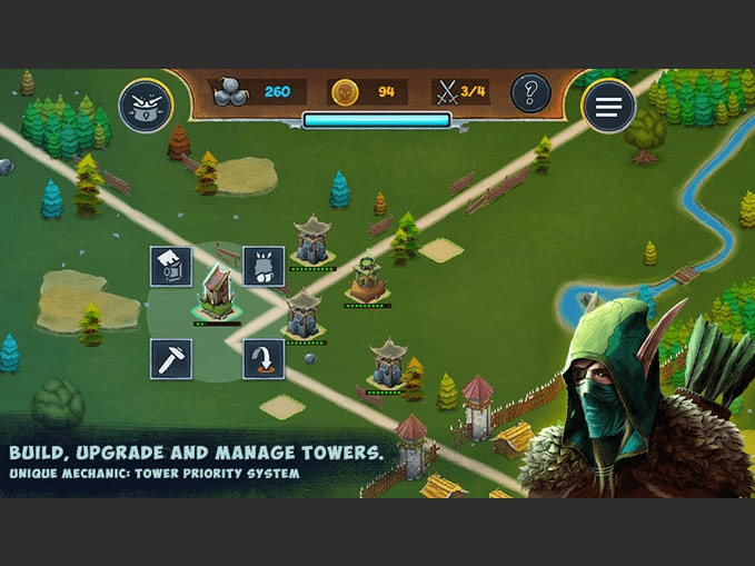 Hooman Invaders Tower Defense Screenshot2